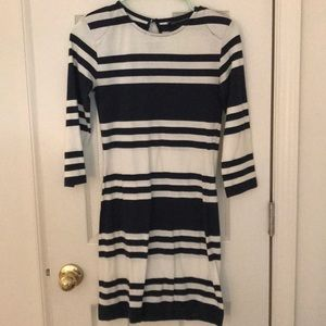 French connection striped mini dress
